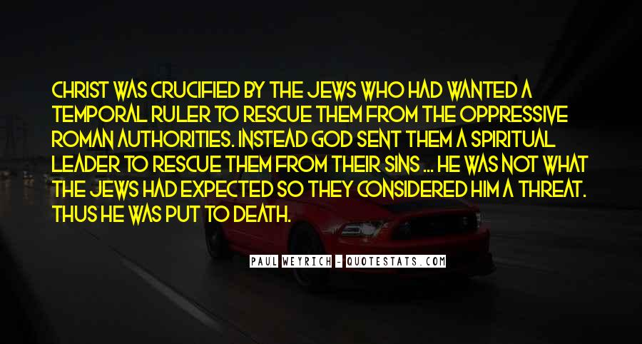 Crucified God Quotes #7941