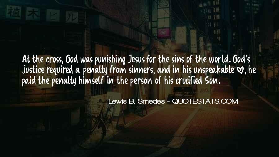 Crucified God Quotes #817100