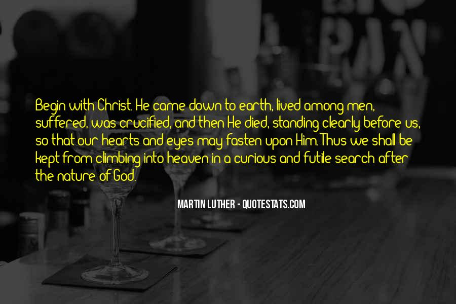 Crucified God Quotes #931195