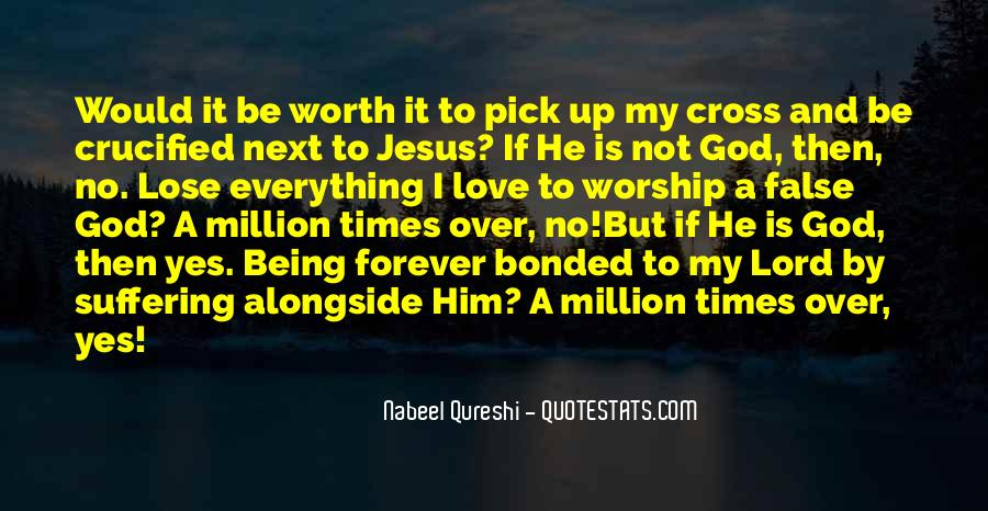 Crucified God Quotes #935889