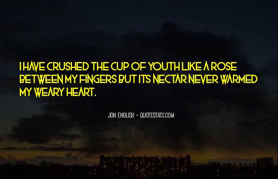 Crushed Heart Quotes #1207434