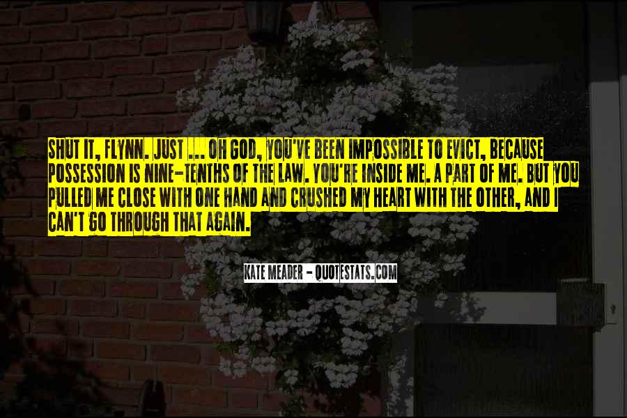 Crushed Heart Quotes #1282874