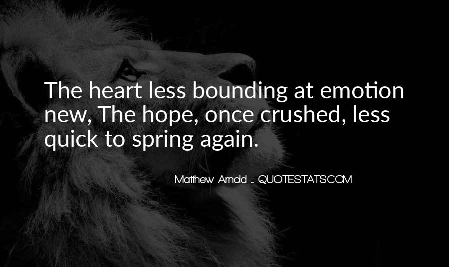 Crushed Heart Quotes #1309287