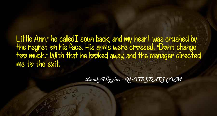 Crushed Heart Quotes #1501538