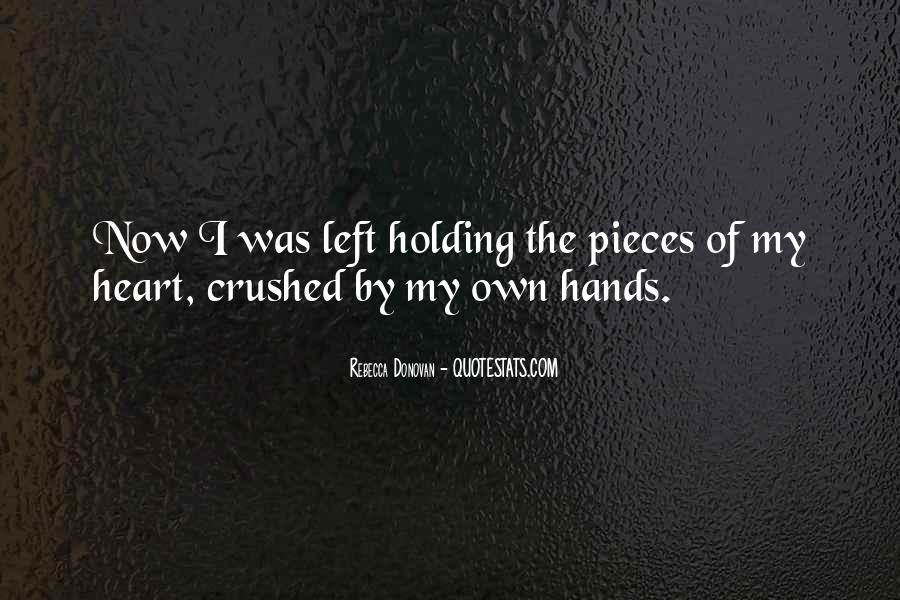 Crushed Heart Quotes #1660363