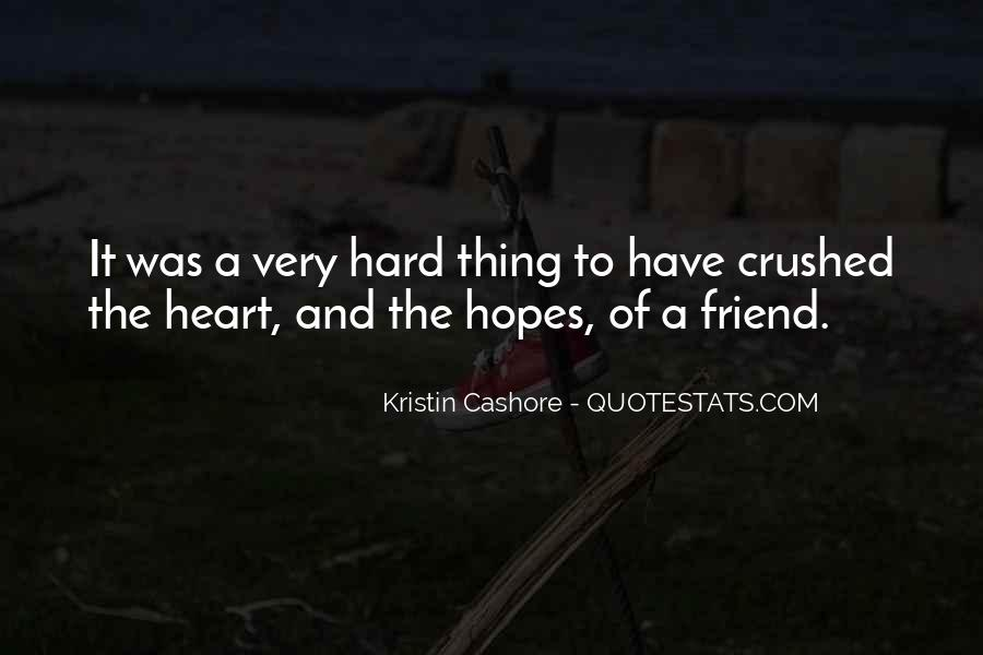 Crushed Heart Quotes #1730025