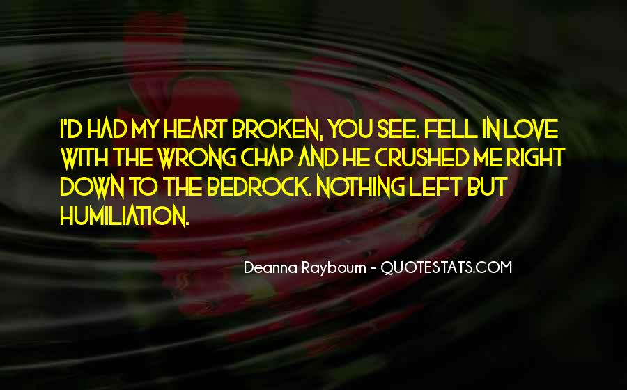 Crushed Heart Quotes #350590