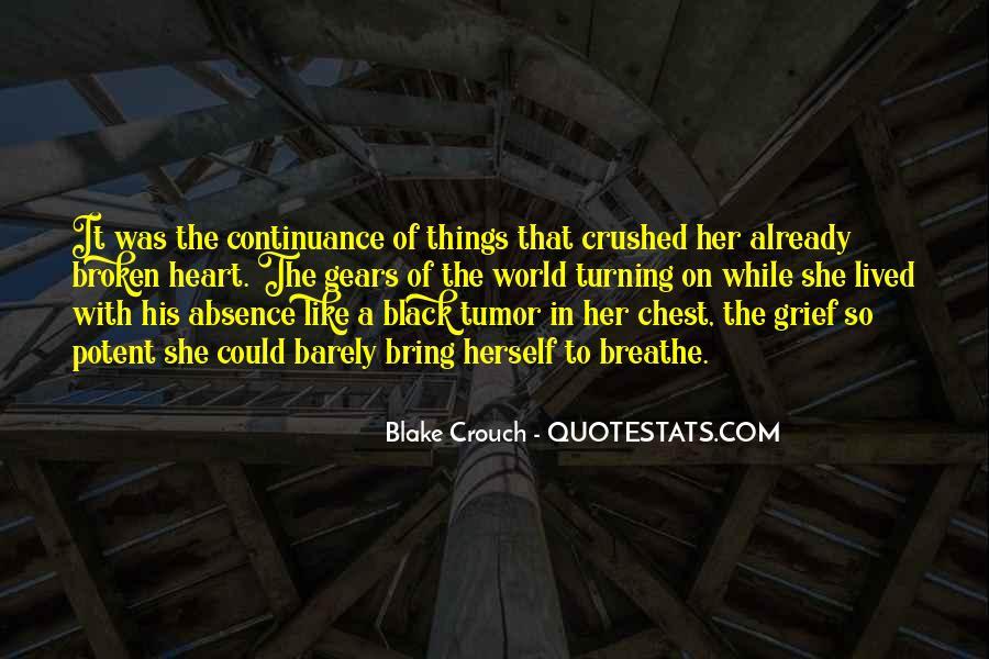 Crushed Heart Quotes #988134