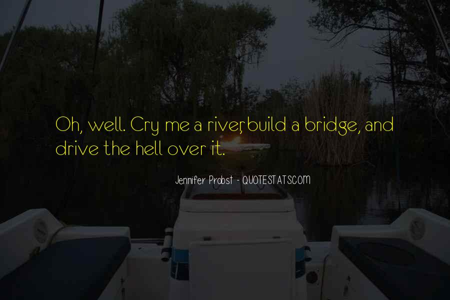 Cry Me A River Build A Bridge And Get Over It Quotes #1676144