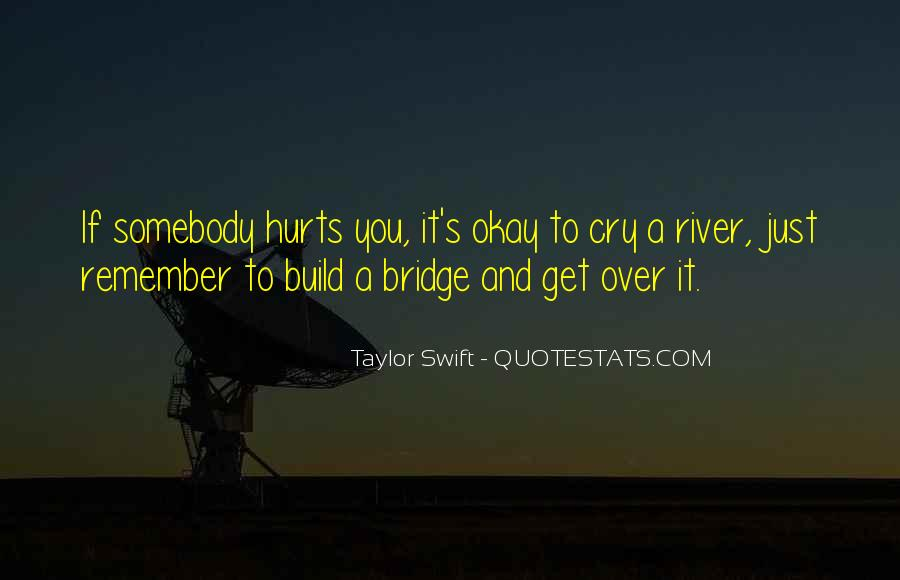 Cry Me A River Build A Bridge And Get Over It Quotes #804370