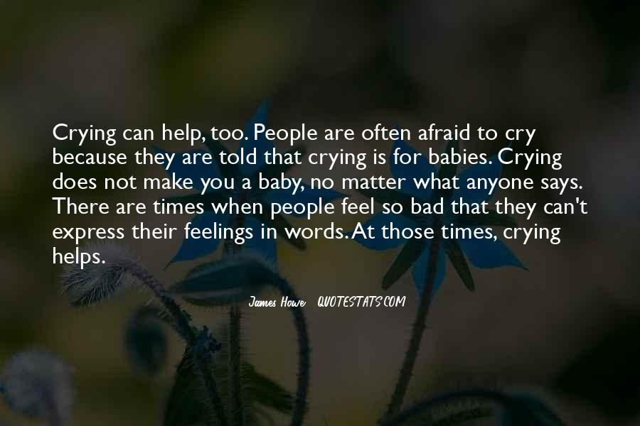 Crying Helps Quotes #604332