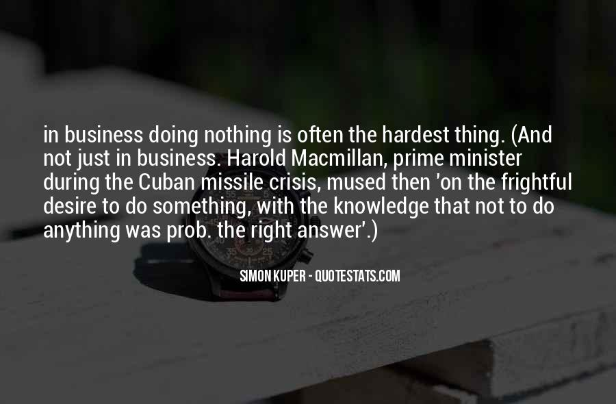 Cuban Missile Quotes #1103767