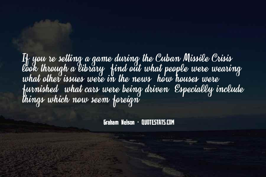 Cuban Missile Quotes #167997