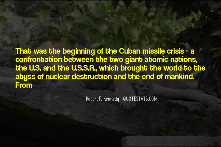 Cuban Missile Quotes #79120