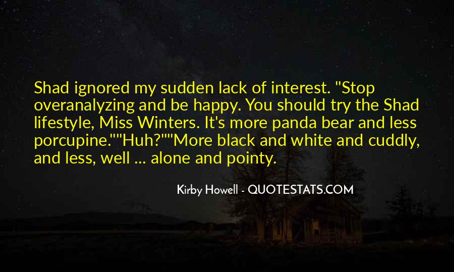 Cuddly Bear Quotes #1618782