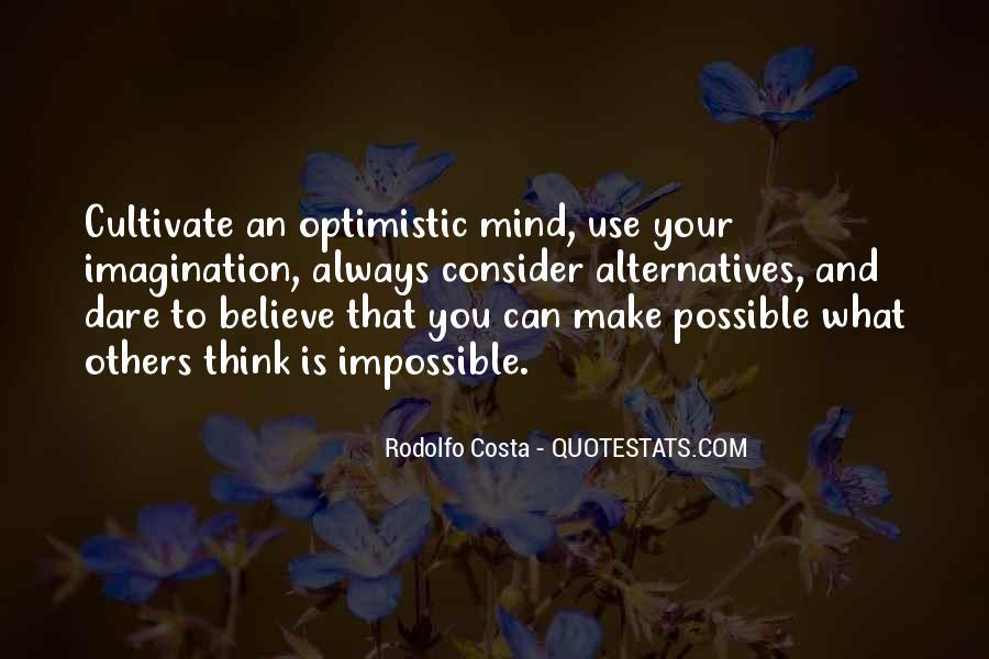 Cultivate Optimism Quotes #58269
