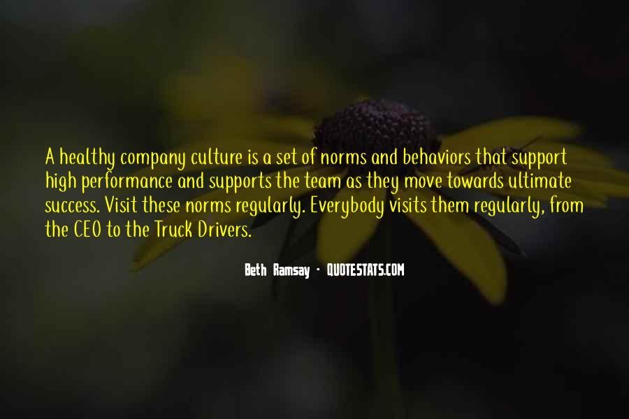 Culture Of A Company Quotes #1294455