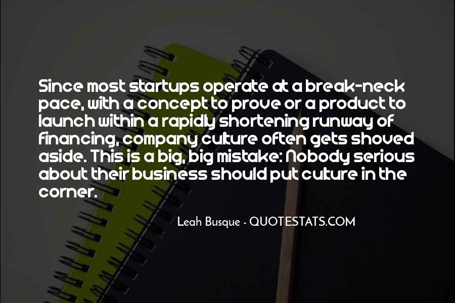 Culture Of A Company Quotes #1599758