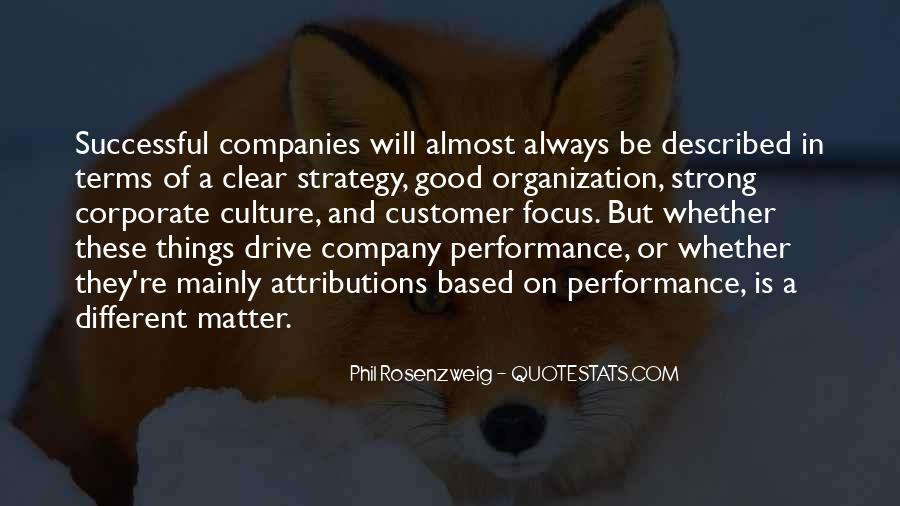 Culture Of A Company Quotes #284404