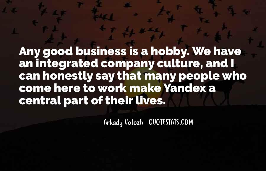Culture Of A Company Quotes #448966
