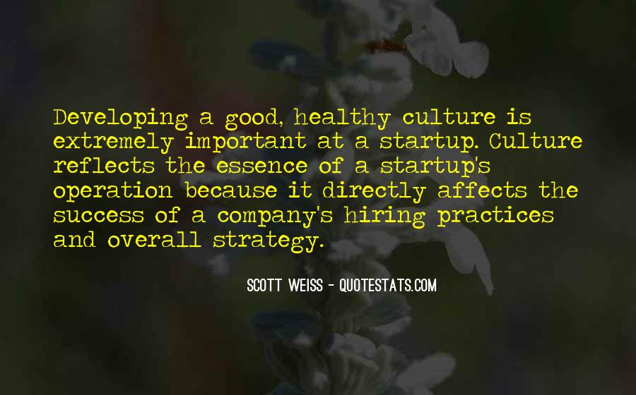 Culture Of A Company Quotes #480505