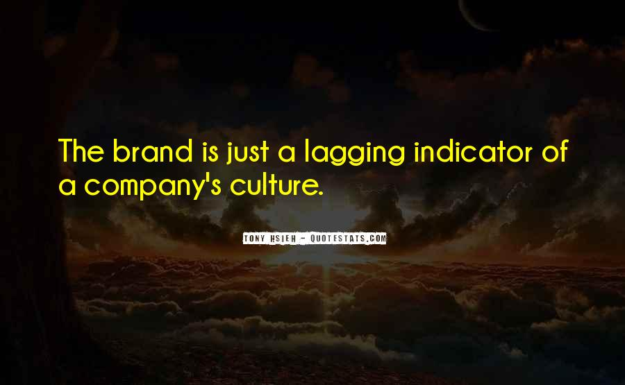 Culture Of A Company Quotes #555681