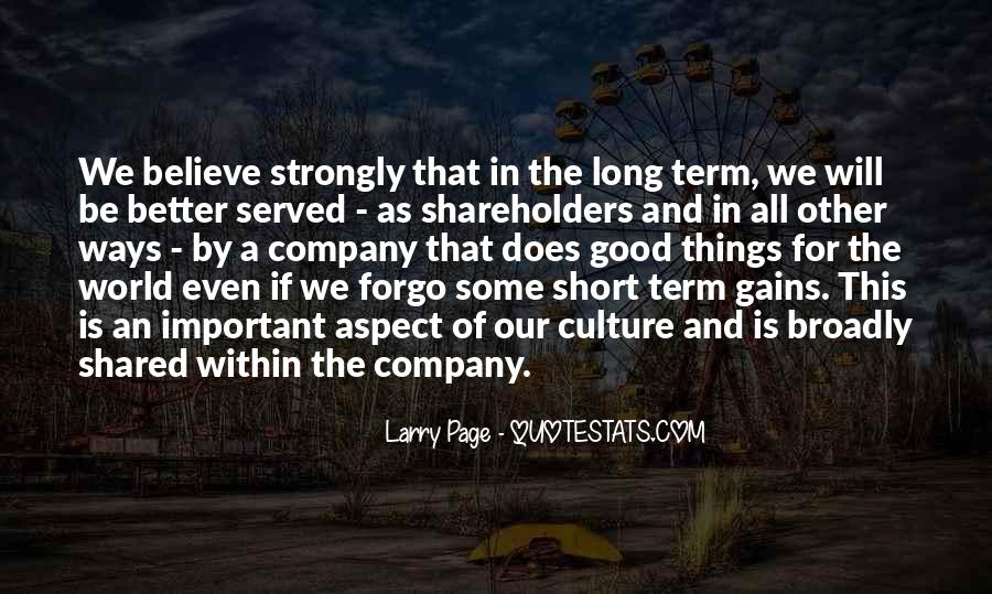 Culture Of A Company Quotes #751808