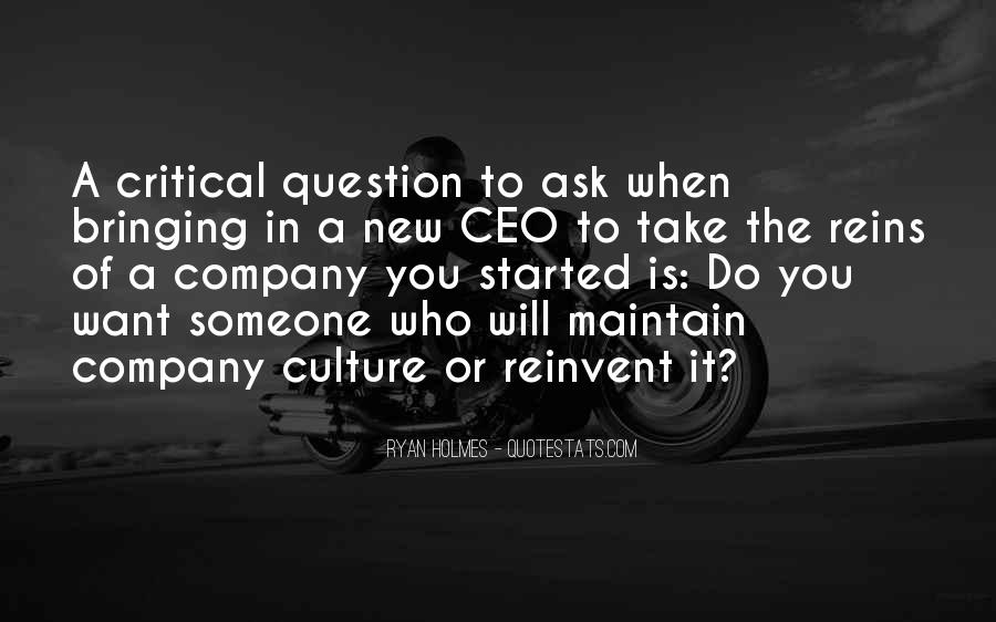 Culture Of A Company Quotes #887302