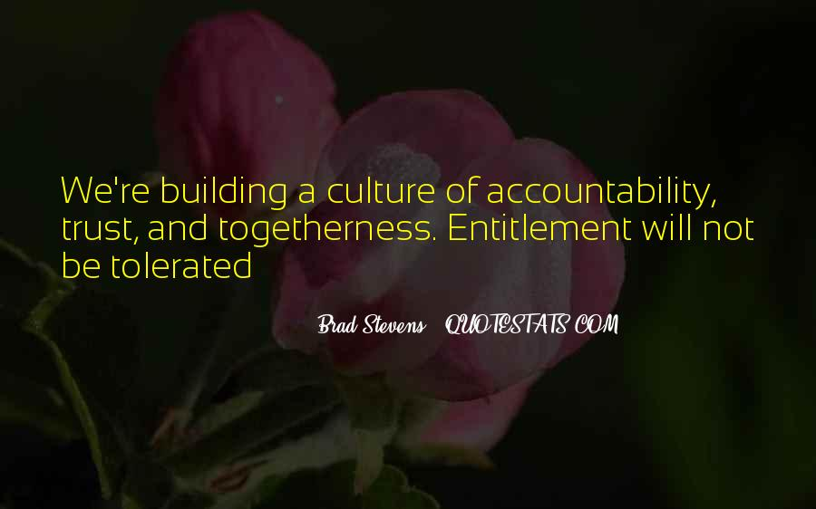 Culture Of Accountability Quotes #417290