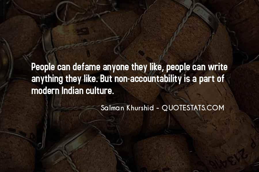 Culture Of Accountability Quotes #459441