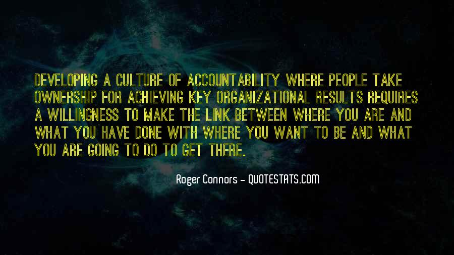 Culture Of Accountability Quotes #534234