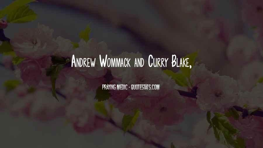 Curry Blake Quotes #129198