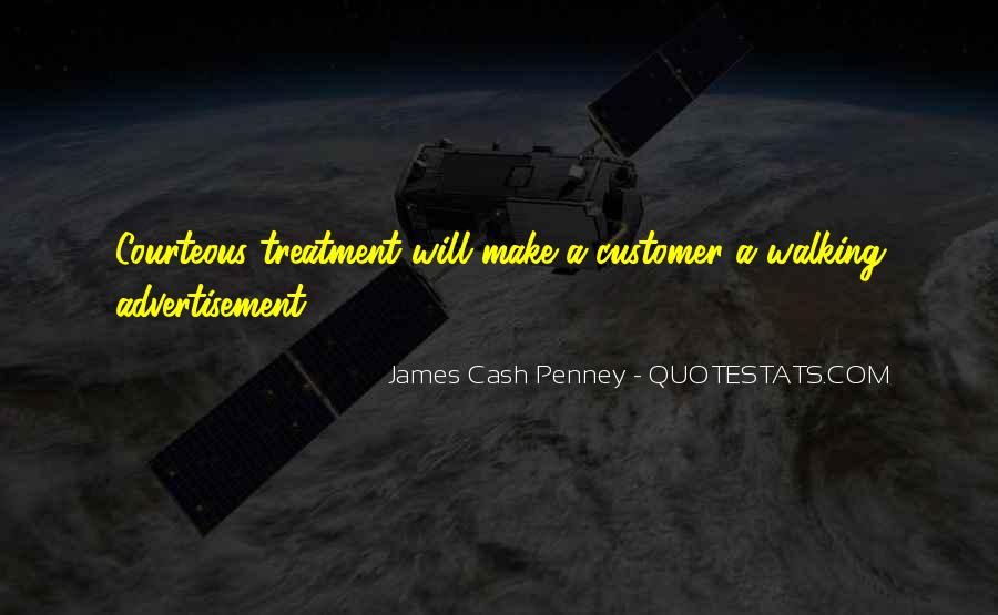 Customer Treatment Quotes #952432