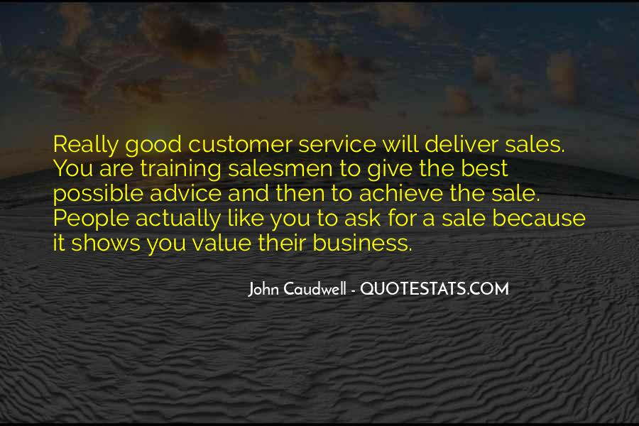 Customer Wants Quotes #31743