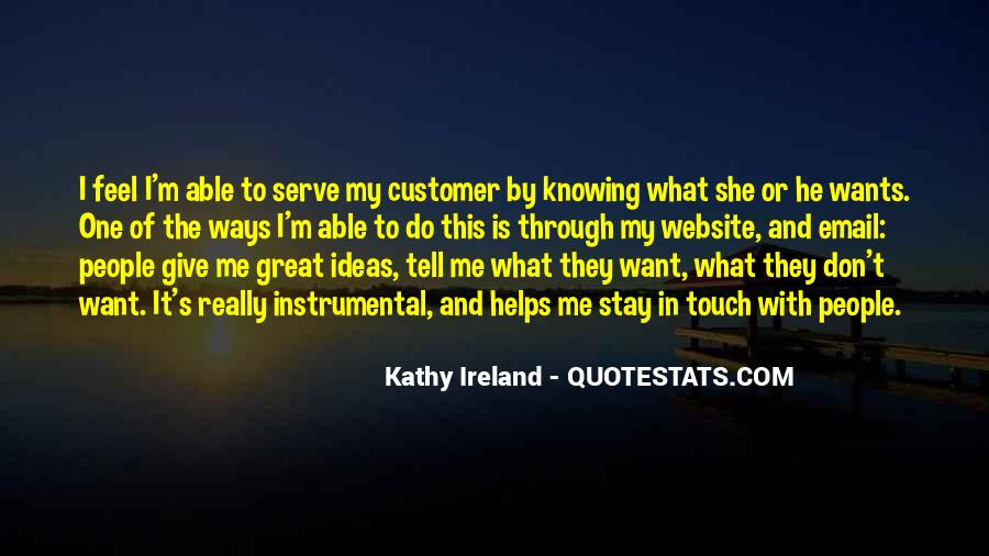 Customer Wants Quotes #449871