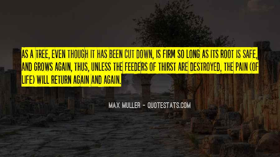 Cut Down Tree Quotes #103539