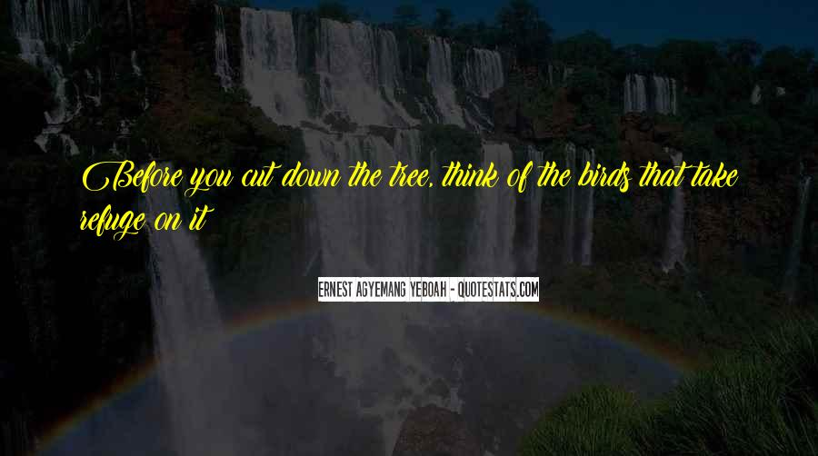 Cut Down Tree Quotes #714029
