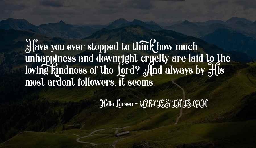 Quotes About Kindness And Cruelty #104370