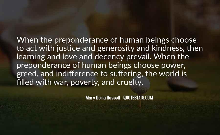 Quotes About Kindness And Cruelty #1224442