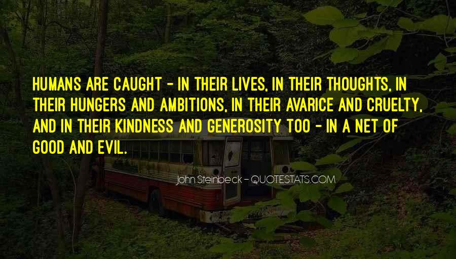 Quotes About Kindness And Cruelty #1814655