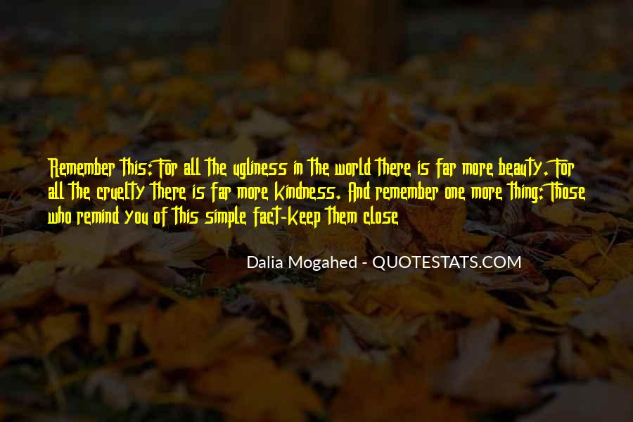 Quotes About Kindness And Cruelty #538085