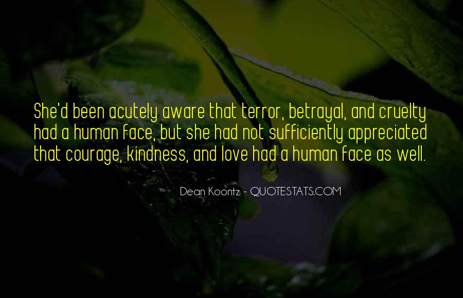 Quotes About Kindness And Cruelty #873745