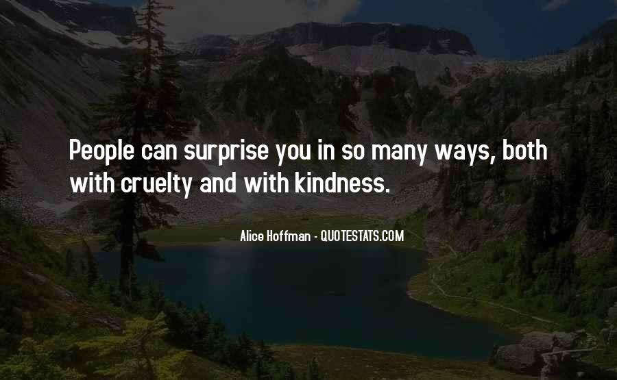 Quotes About Kindness And Cruelty #995216