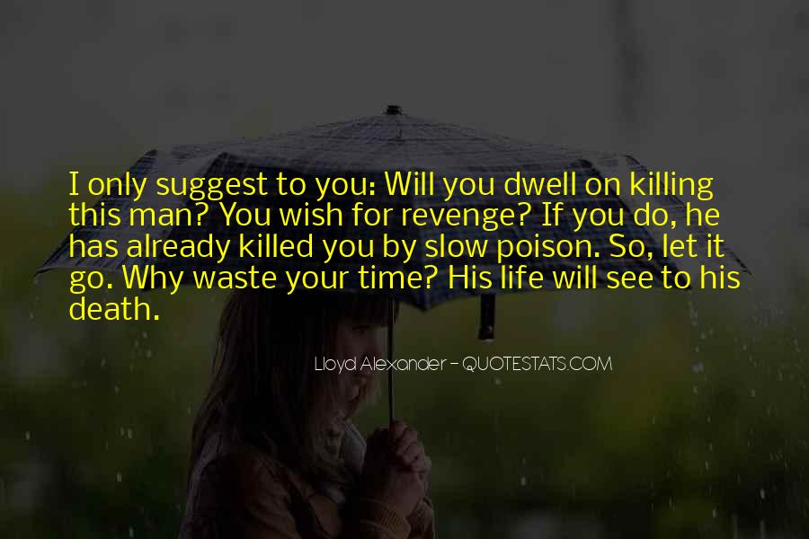 Quotes About Killing For Revenge #350203