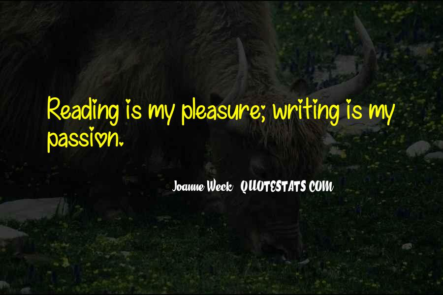 Quotes About The Passion Of Reading #1047096
