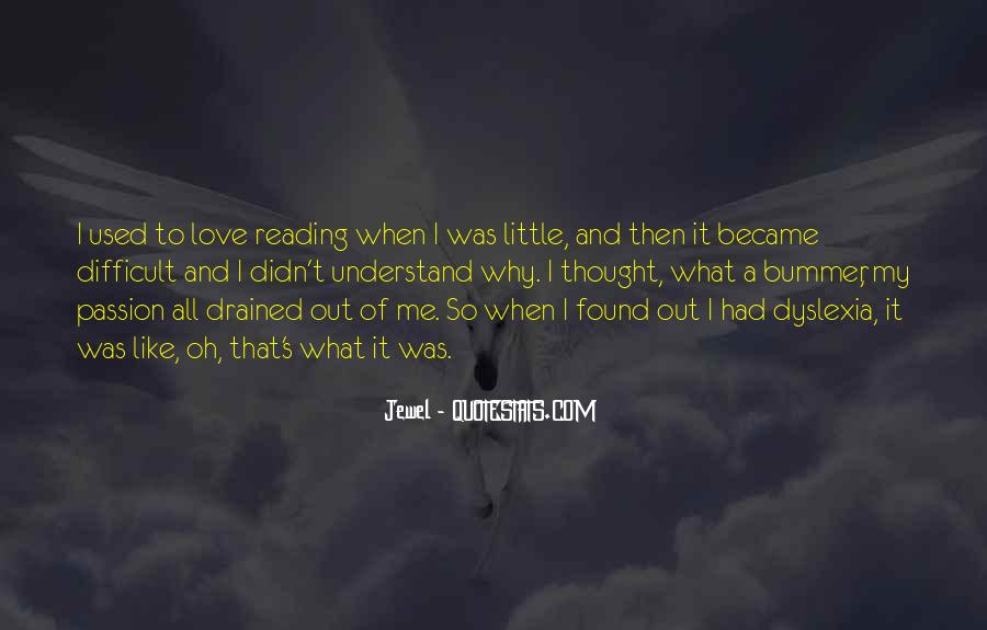 Quotes About The Passion Of Reading #1147082
