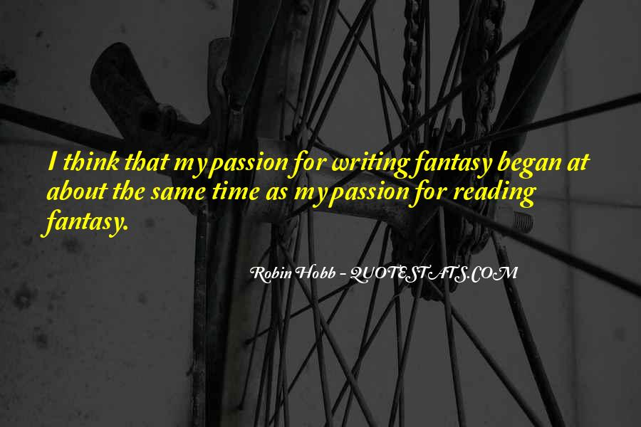 Quotes About The Passion Of Reading #1445700