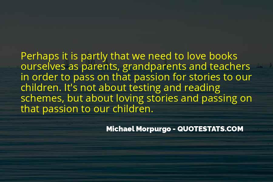 Quotes About The Passion Of Reading #1640006
