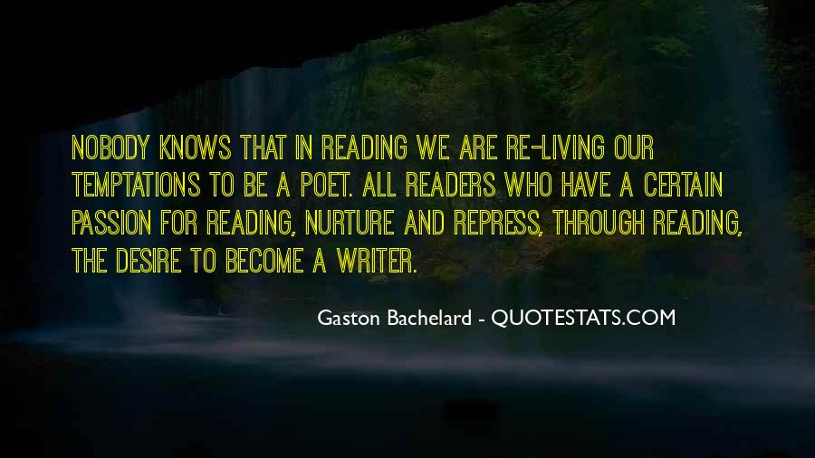 Quotes About The Passion Of Reading #1695904
