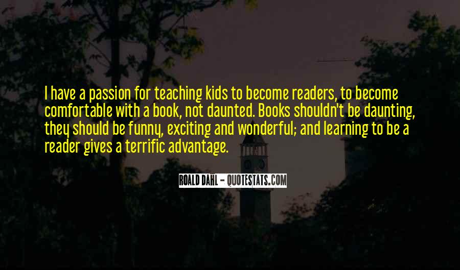 Quotes About The Passion Of Reading #1836360